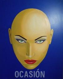 A la ocasión la pintan calva - 100 x 80 cms - 2015 - Técnica: pintura acrílica s/tela - Alejandro Fidias Fabri